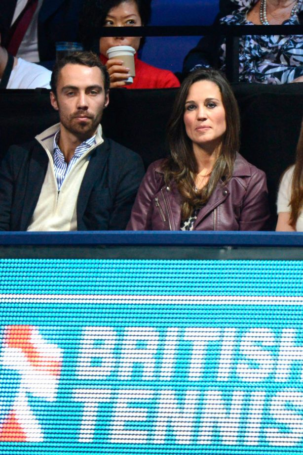 James and Pippa Middleton