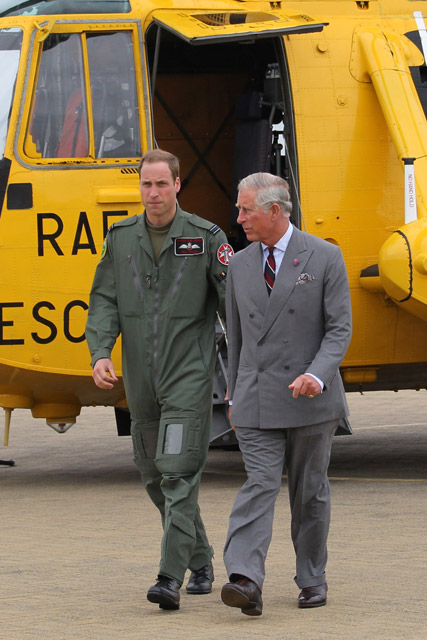 Prince William and Prince Charles - Marie Claire - Marie Claire UK