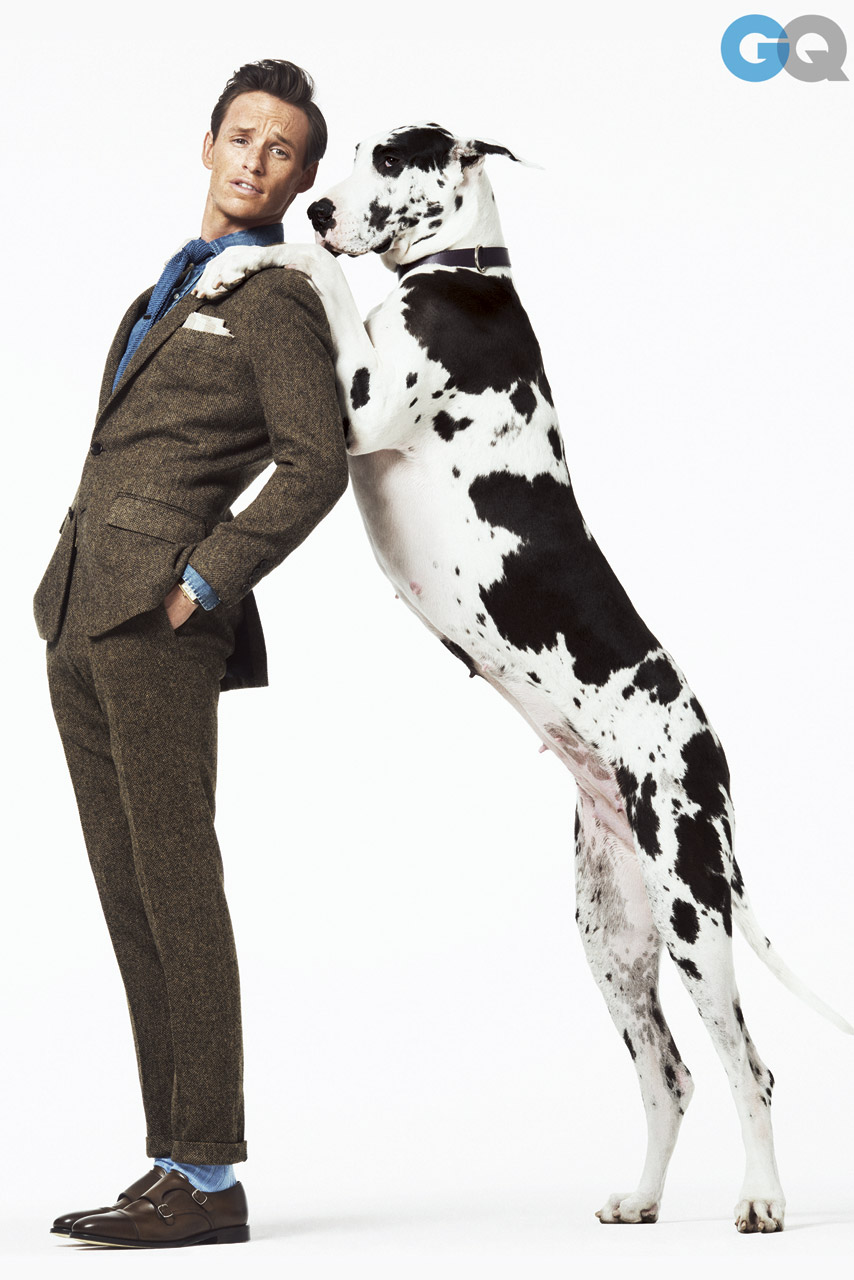 Eddie Redmayne Poses For GQ US: See The Pictures We're Obsessed With