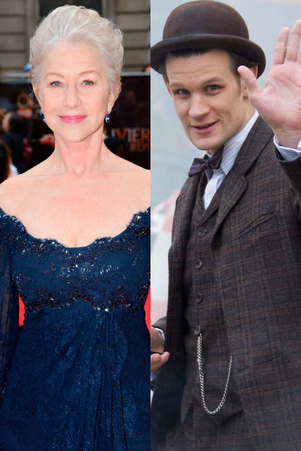 Helen Mirren has expressed an interest in replacing the Time Lord