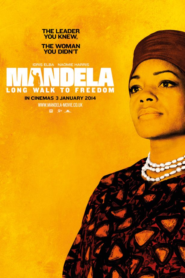 Mandela: Long Walk To Freedom official movie poster