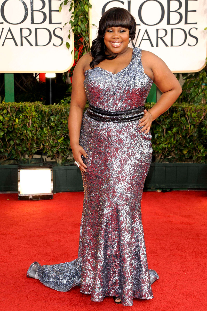 Glee star Amber Riley gets emotional as she opens up on ...