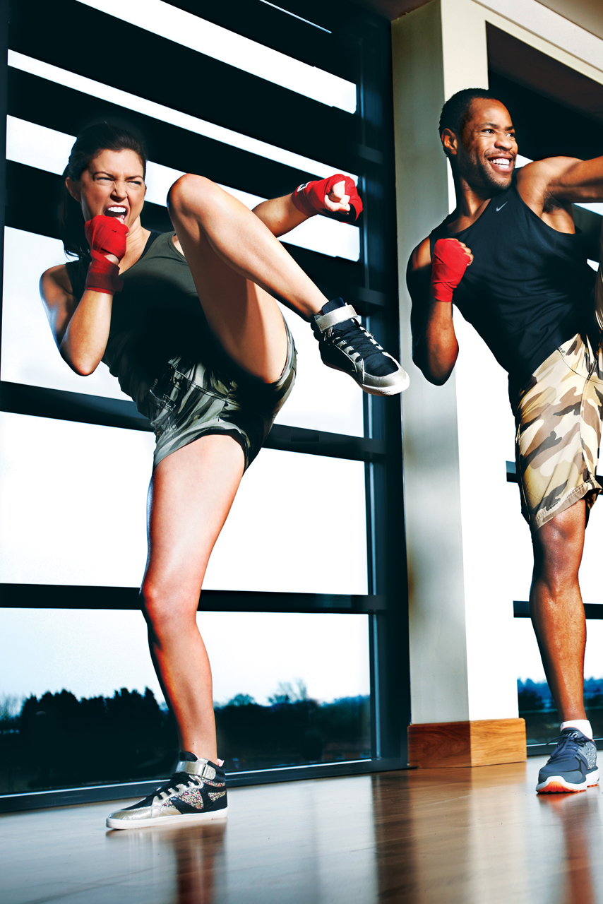A Stress Busting BODYCOMBAT Class