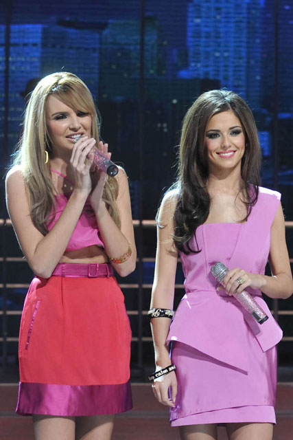 Cheryl Cole and Nadine Coyle - Girls Aloud - Marie Claire - Marie Claire UK