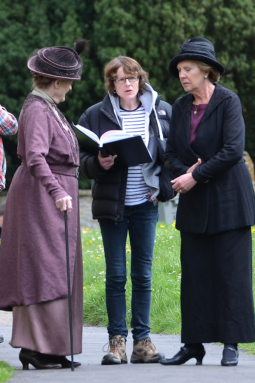Downton Abbey Filming Continues After P Diddy Claims To Have Joined Cast