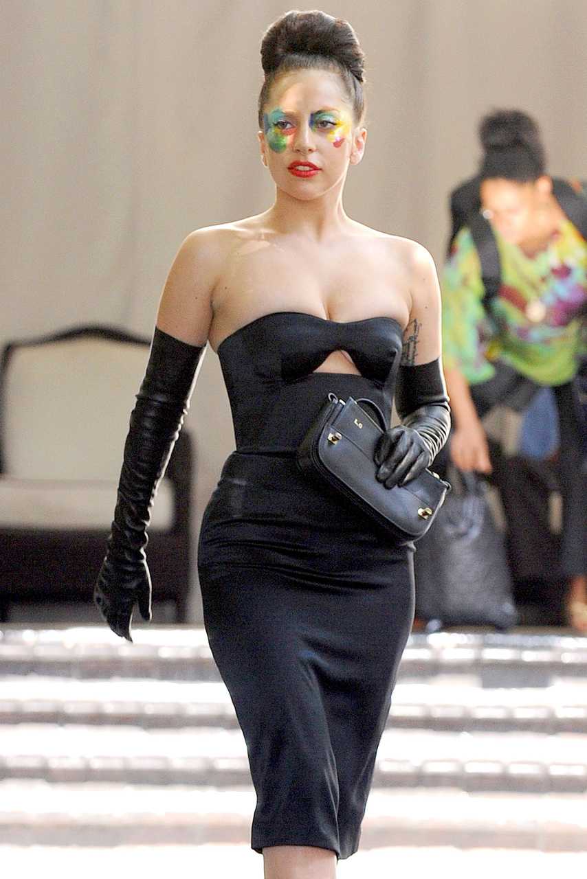 Lady Gaga Leaves Chateau Marmont After Partying With R-Patz