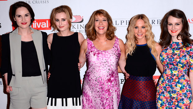Downton Abbey Girls Go Glam In LA As They Reveal Series 4 Secrets