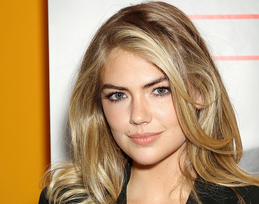 Hairstyles For Round Faces Kate Upton