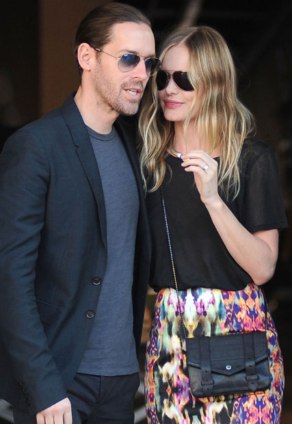 Kate Bosworth and Michael Polish in New York