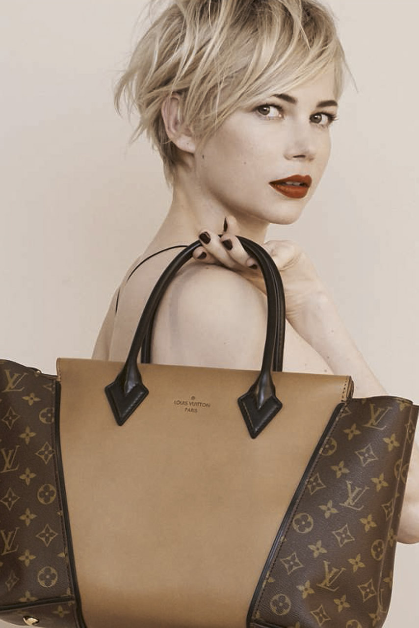 The New Campaign – Michelle Williams For Louis Vuitton Photographed by Peter Lindbergh