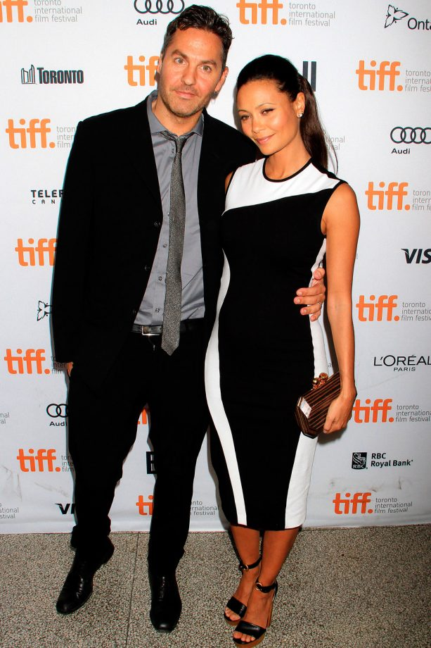 Thandie Newton and Ol Parker at the Toronto Film Festival