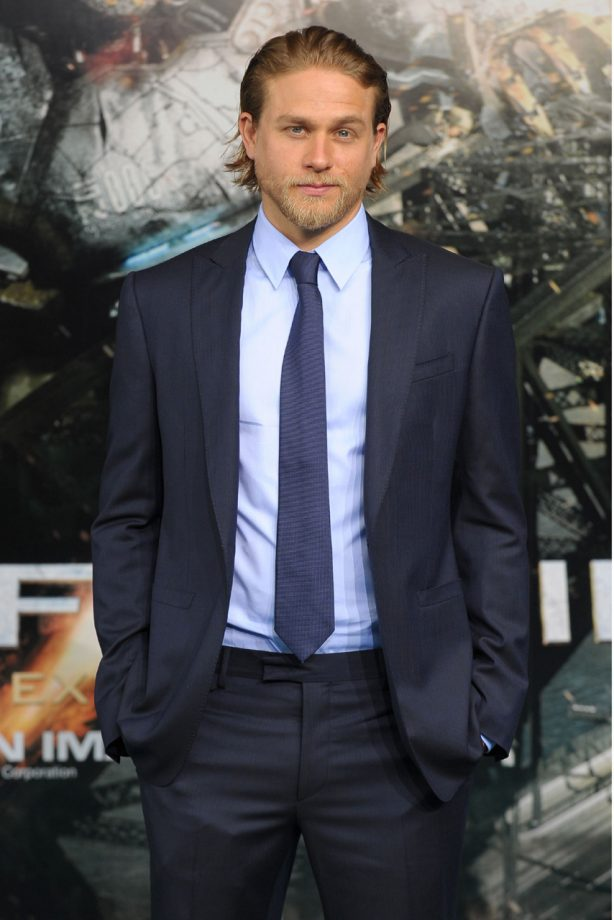 50 Shades of Grey Movie - Charlie Hunnam - Christian Grey - Marie Claire - Marie Claire UK