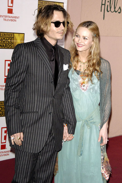 Johnny Depp and Vanessa Paradis - Marie Claire - Marie Claire UK