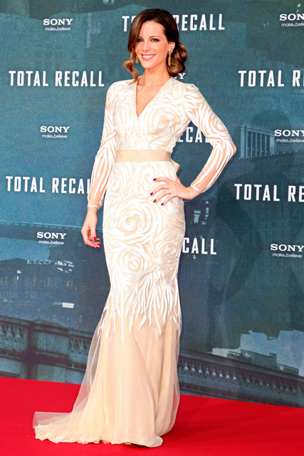 Jessica Biel and Kate Beckinsale at the Berlin premiere of Total Recall