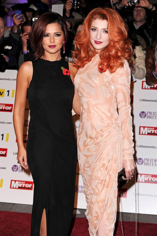 Cheryl Cole - Nicola Roberts - Marie Claire - Marie Claire UK