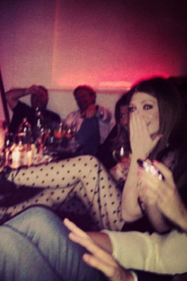 Nicola Roberts' party in Amsterdam