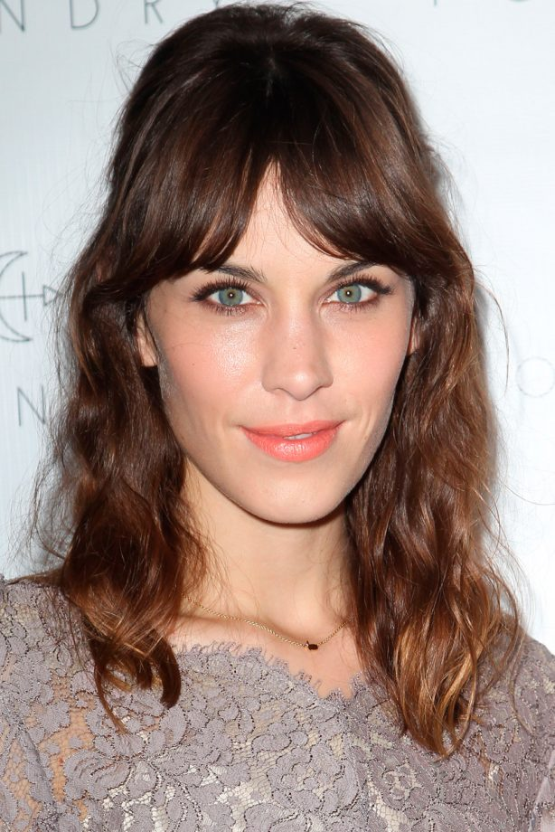 Alexa Chung at the Foundry Store Launch Party in Los Angeles