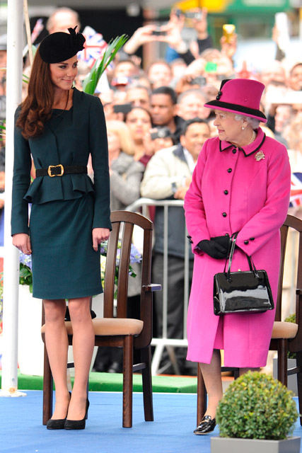 Kate Middleton to join the Queen on royal barge