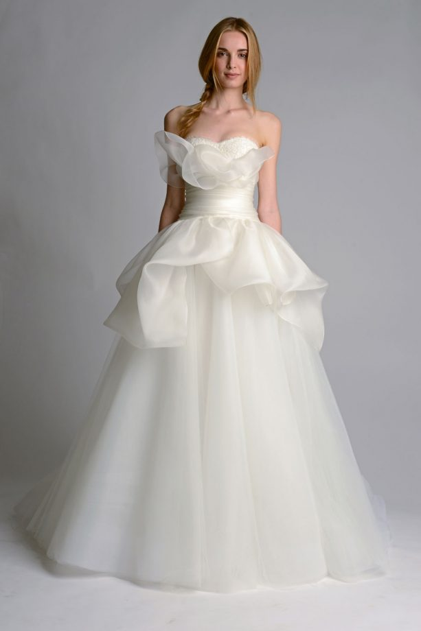 New season wedding dress styles - Marchesa