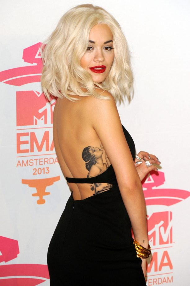 Rita Ora at the 20th MTV Europe Music Awards