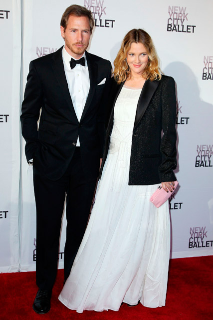 Will Kopelman and Drew Barrymore at the New York City Ballet Spring Gala 2012