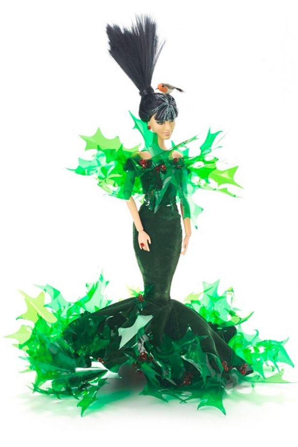 Stephen Jones debuts bespoke designs for Barbie