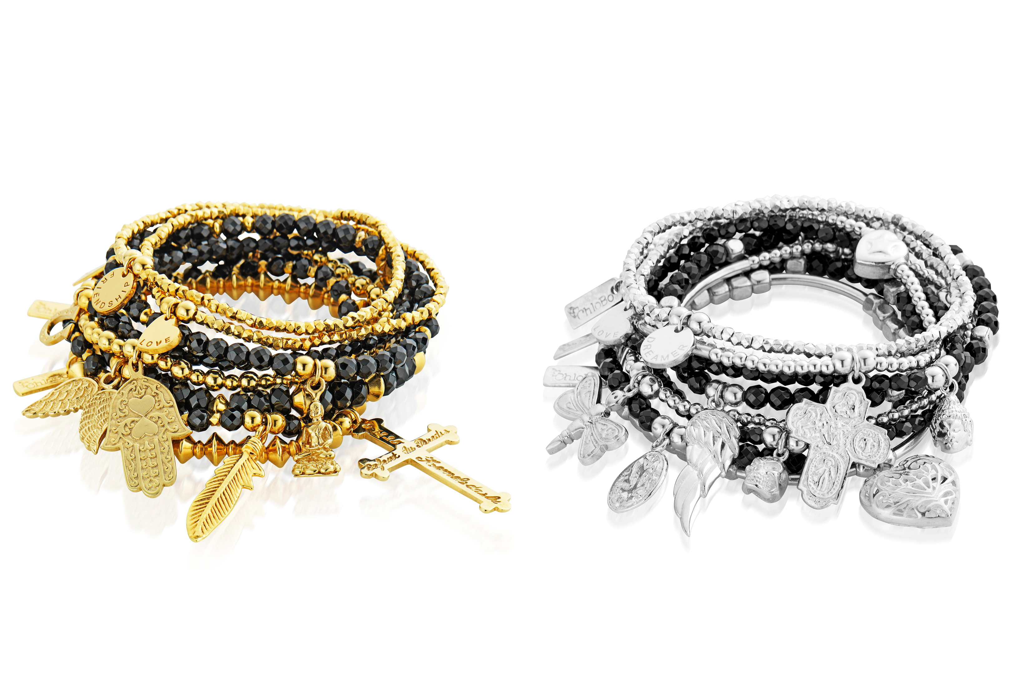Friday Treat Competition: Win A Stack Of Bracelets From ChloBo's New Lucky 13 Collection
