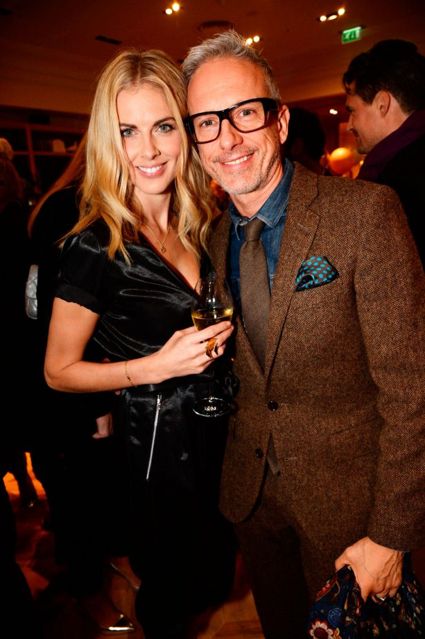 Donna Air stuns at the J.Crew London launch