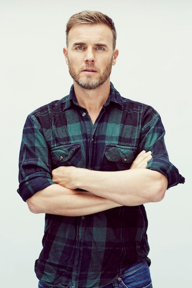 Gary Barlow in a promotional shot for his solo tour