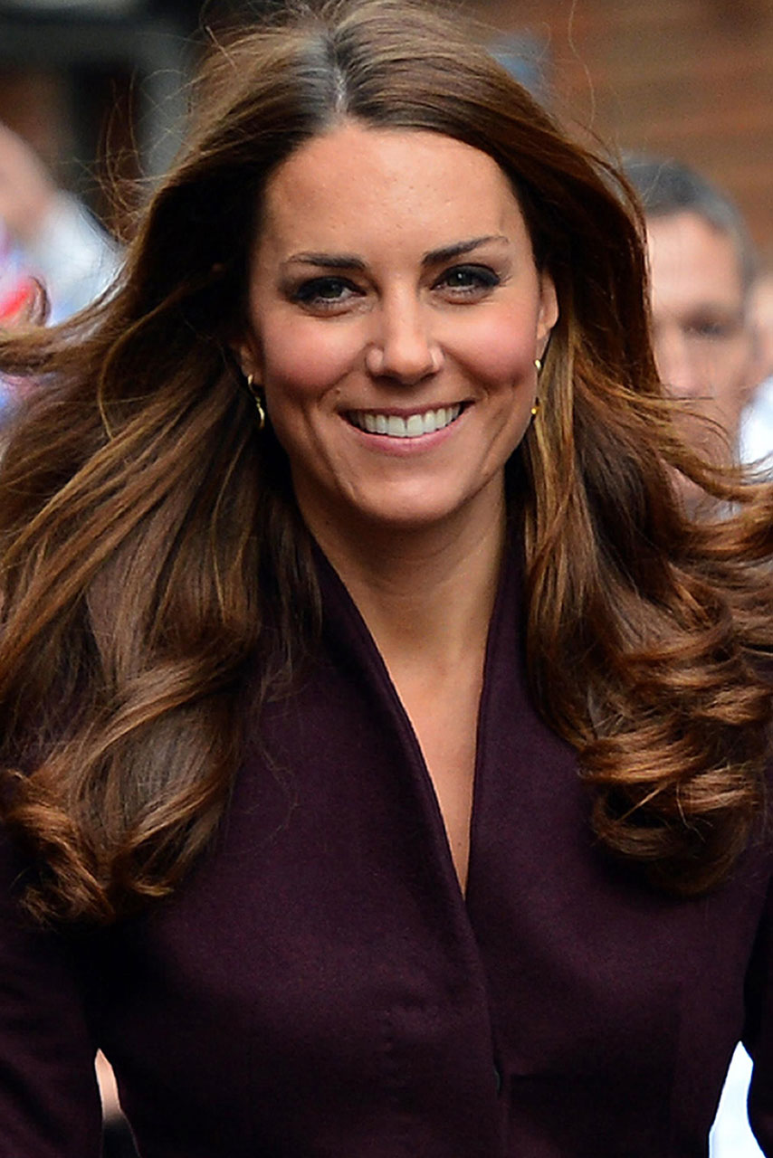 Kate Middleton S Hair Causes Surge In Brunette Dye Sales