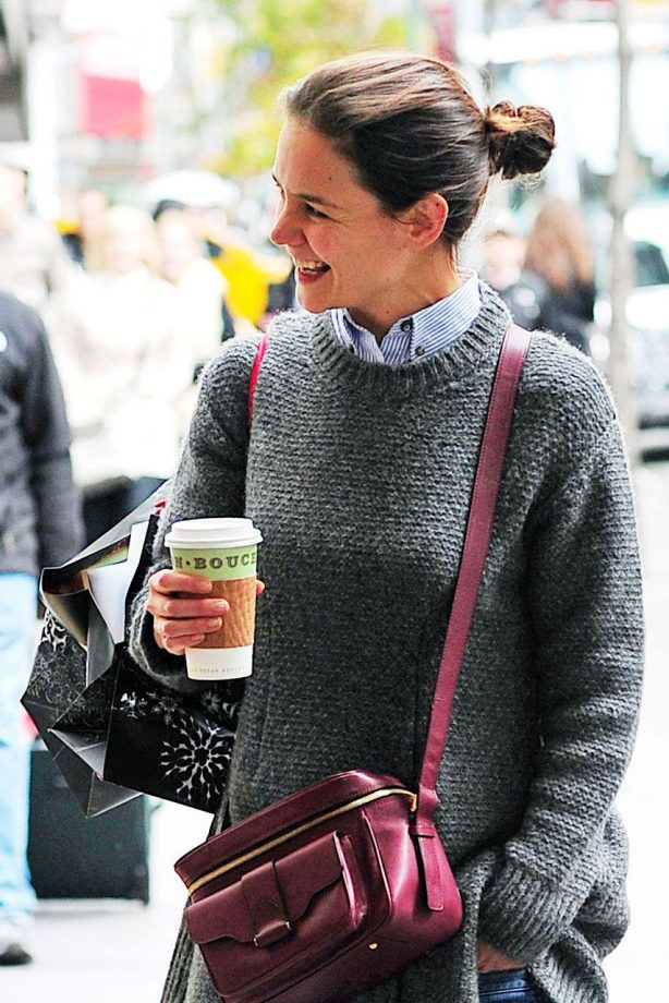 Katie Holmes - Broadway show - Hurricane Sandy - Marie Claire - Marie Claire UK