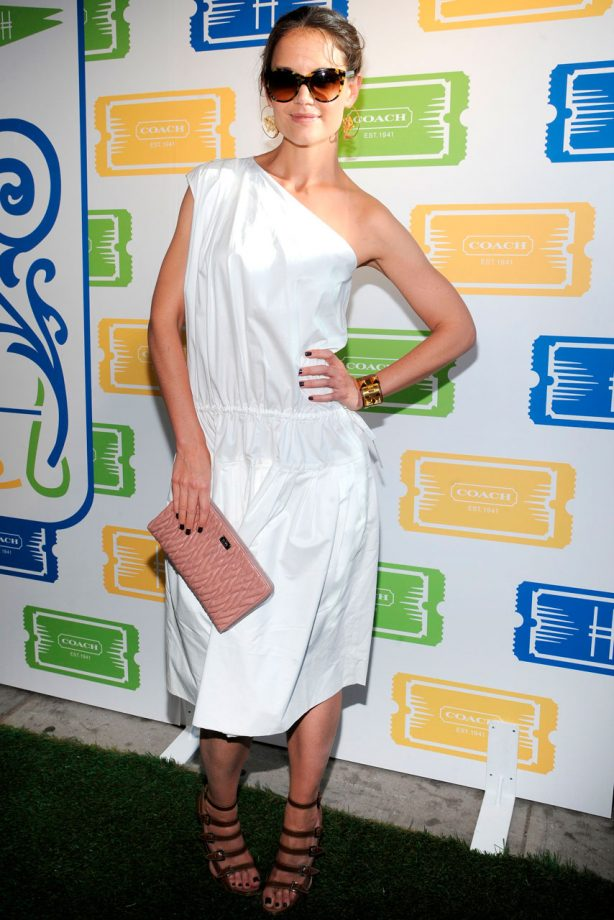 Stars at the Coach Summer Party in New York