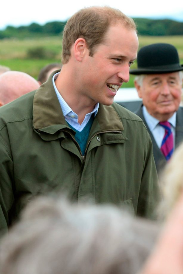 Prince William at the Anglesey show