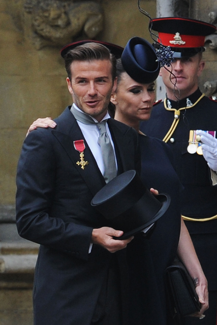 Victoria and David Beckham, Victoria Beckham, David Beckham, Royal Wedding, Kate Middleton, Prince William, Beckhams, Beckhams royal wedding, Beckhmas complain about royal wedding