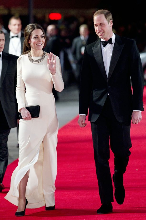 The Duchess of Cambridge and The Duke of Cambridge At The 'Mandela: Long Walk To Freedom' Premiere