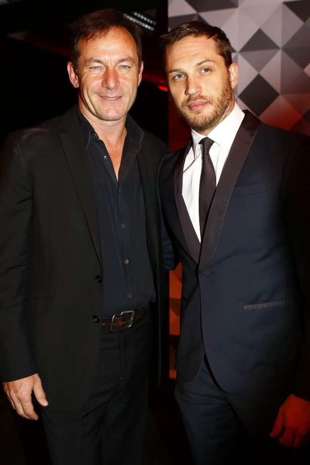 Jason Isaacs And Tom Hardy At The Moet British Independent Film Awards 2013