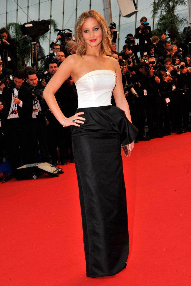 Jennifer lawrence rocks three dior outfits at cannes 2013 which is jennifer lawrence at cannes 2013 voltagebd Image collections