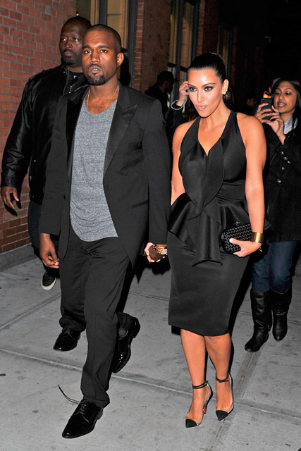 Kanye West and Kim Kardashian - Marie Claire - Marie Claire UK