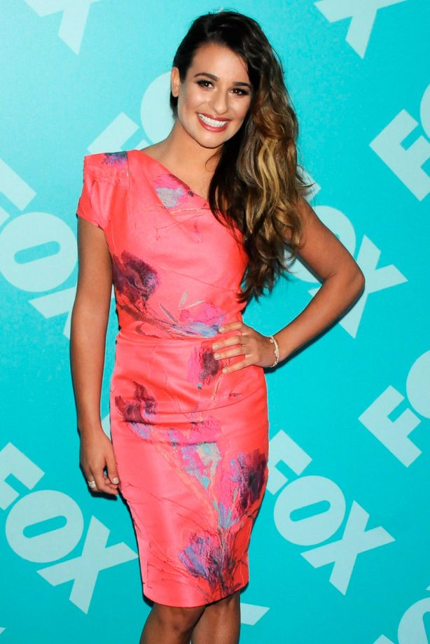 Lea Michele at the FOX Upfront Party