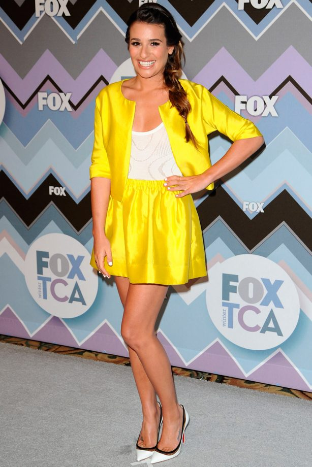 Lea Michele at the 2013 FOX Winter TCA All-Star Party