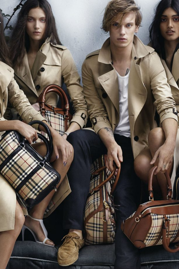 Burberry unveils the stars of its Spring Summer 2014 campaign