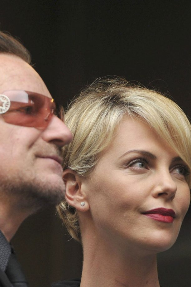 Charlize Theron at Nelson Mandela's memorial service