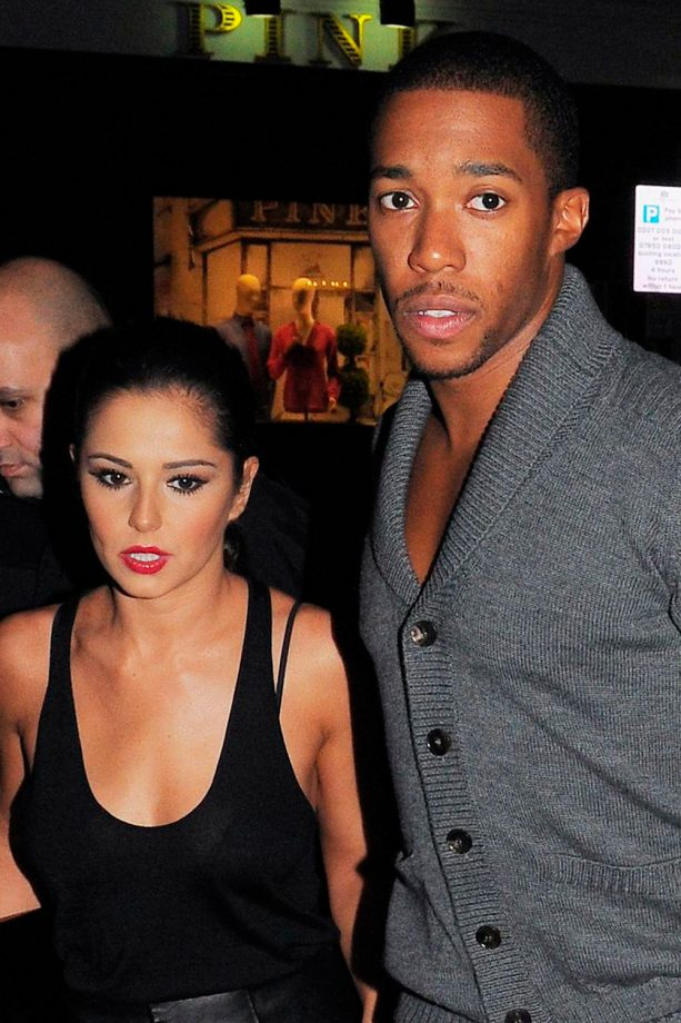 Cheryl Cole and Tre Holloway out and about