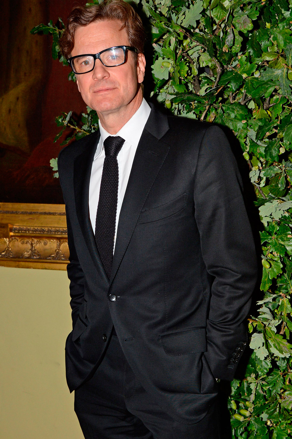 Colin Firth Reacts To ...