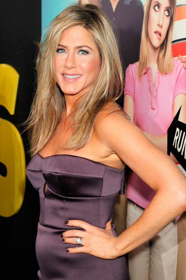 Jennifer Aniston at the We're The Millers premeire