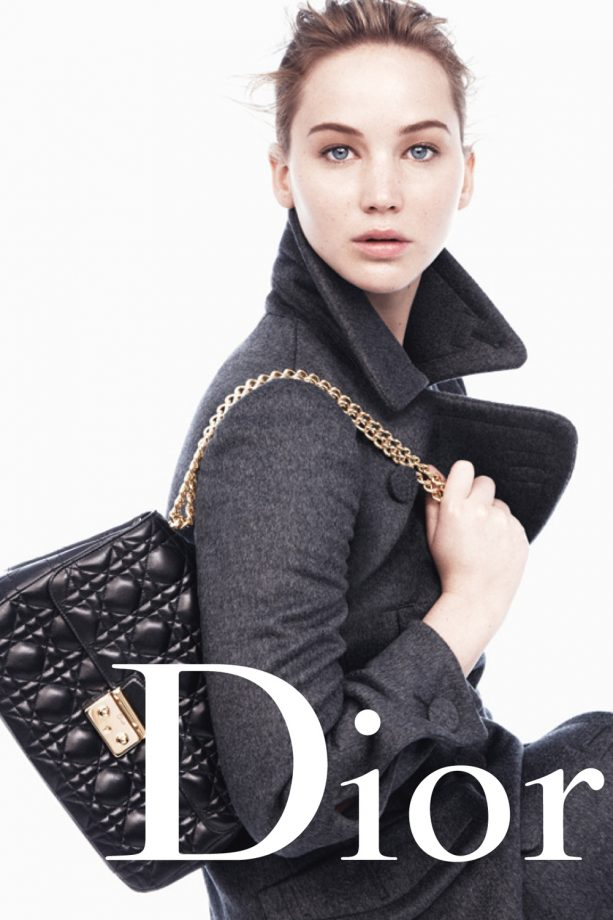 Jennifer Lawrence - Miss Dior ad - Marie Claire - Marie Claire UK