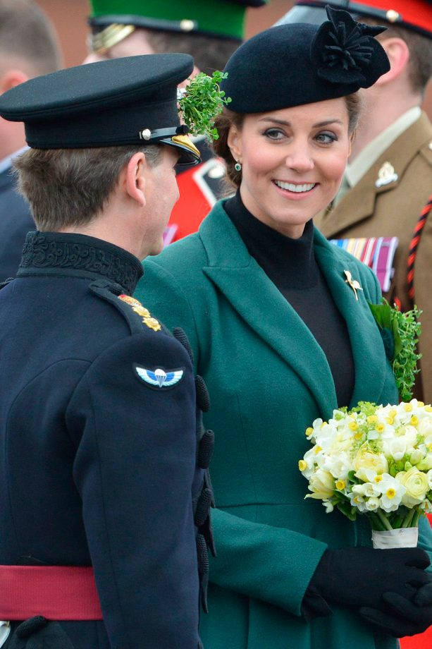 Kate Middleton and the Irish Guards