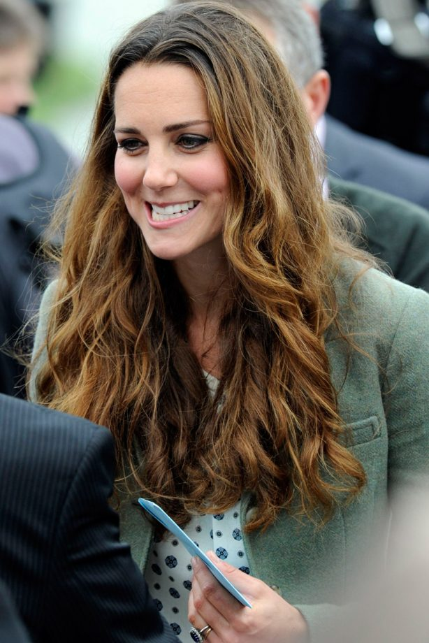 Kate Middleton makes her first public appearance in Anglesey