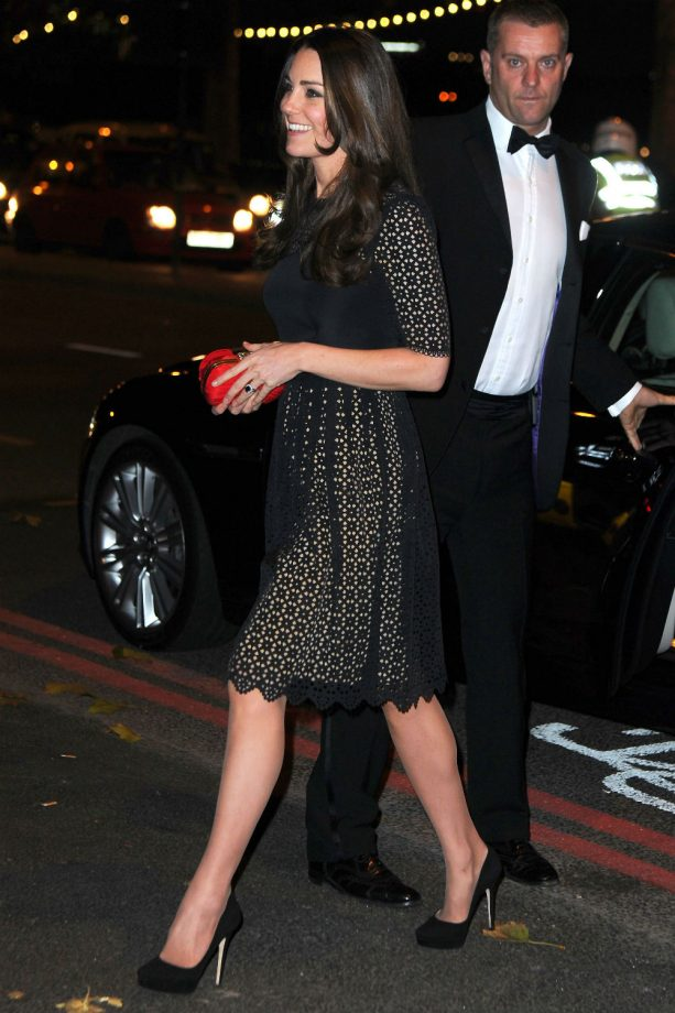 Kate Middleton styles up SportsAid Gala in Temperley London dress
