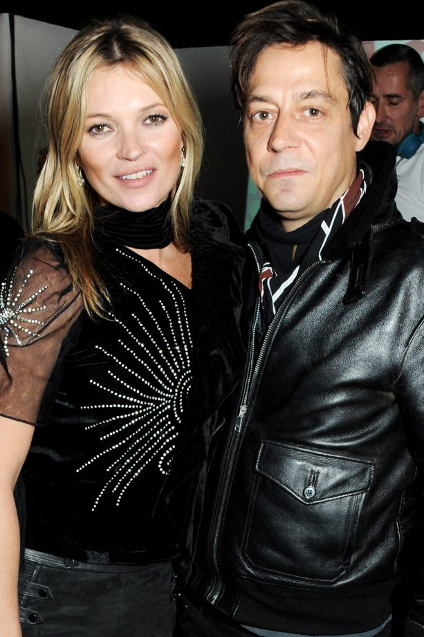 Kate Moss and Jamie Hince at Rimmel's party